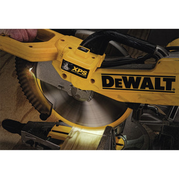 Dewalt DW716XPS 12 in.  Double Bevel Compound Miter Saw with XPS Light image number 6
