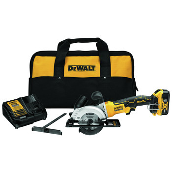 Dewalt DCS571P1 ATOMIC 20V MAX 5 Ah Brushless 4-1/2 in. Circular Saw Kit