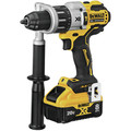 Dewalt DCD998W1 20V MAX XR Brushless Lithium-Ion 1/2 in. Cordless Hammer Drill Driver with POWER DETECT Tool Technology Kit (8 Ah) image number 2
