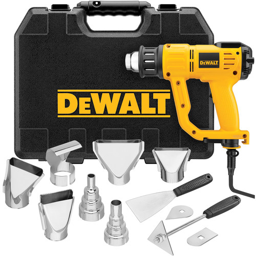 Dewalt D26960K Heavy Duty Heat Gun with LCD Display and Kitbox image number 0
