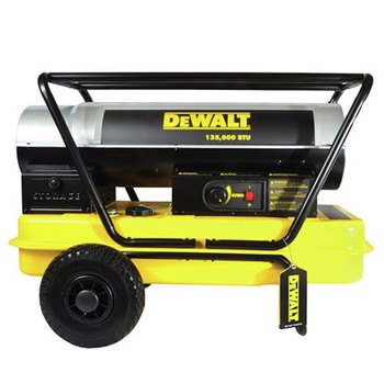 Dewalt DXH135HD 135,000 BTU Forced Air Kerosene Construction Heater
