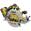 Dewalt DCS574W1 20V MAX XR Brushless Lithium-Ion 7-1/4 in. Cordless Circular Saw with POWER DETECT Tool Technology Kit (8 Ah) image number 2