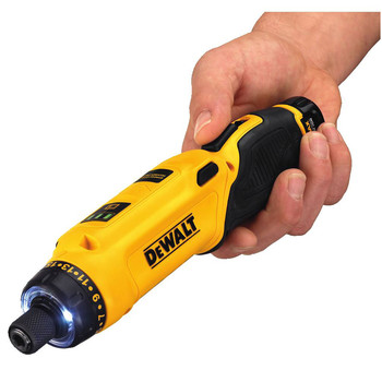 Factory Reconditioned Dewalt DCF680N2R 8V MAX Cordless Lithium-Ion Gyroscopic Screwdriver Kit with 2 Compact Batteries image number 3