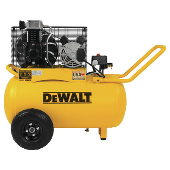 Dewalt DXCM201 20 Gallon 200 PSI Portable Horizontal Electric Air Compressor