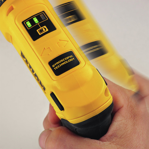 Factory Reconditioned Dewalt DCF680N2R 8V MAX Cordless Lithium-Ion Gyroscopic Screwdriver Kit with 2 Compact Batteries image number 12