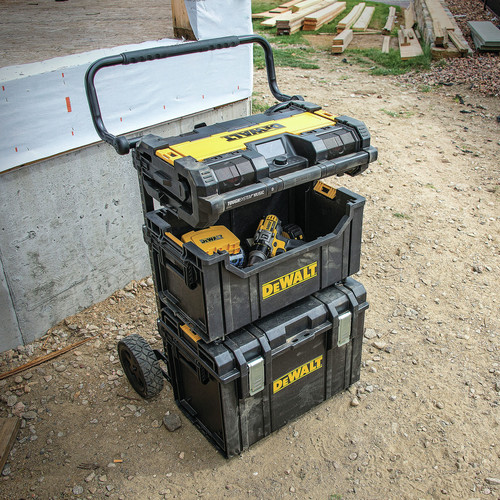 Dewalt DWST08810 ToughSystem Music and Charger System image number 4