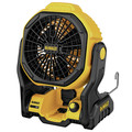 Dewalt DCE511B-DCB240-BNDL 20V MAX Cordless Lithium-Ion / Corded Jobsite Fan and 4 Ah Compact Lithium-Ion Battery image number 1