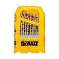 Dewalt DW1969 29-Piece Pilot Point and Drill Bit Set image number 0
