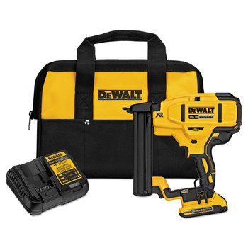 Dewalt DCN681D1 20V MAX Cordless Lithium-Ion 18 Gauge Narrow Crown Stapler Kit
