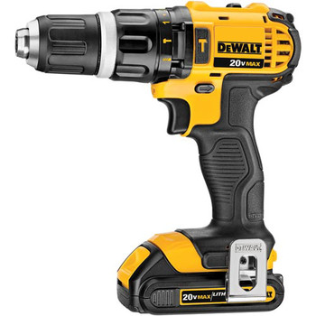 Factory Reconditioned Dewalt DCD785C2R 20V MAX Lithium-Ion Compact 1/2 in. Cordless Hammer Drill Driver Kit (1.5 Ah) image number 1