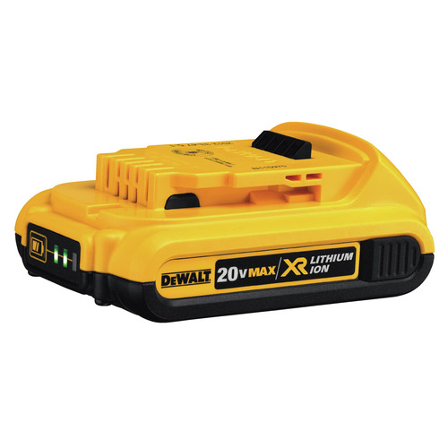 Dewalt DCN660D1 20V MAX 2.0 Ah Cordless Lithium-Ion 16 Gauge 2-1/2 in. 20 Degree Angled Finish Nailer Kit image number 9