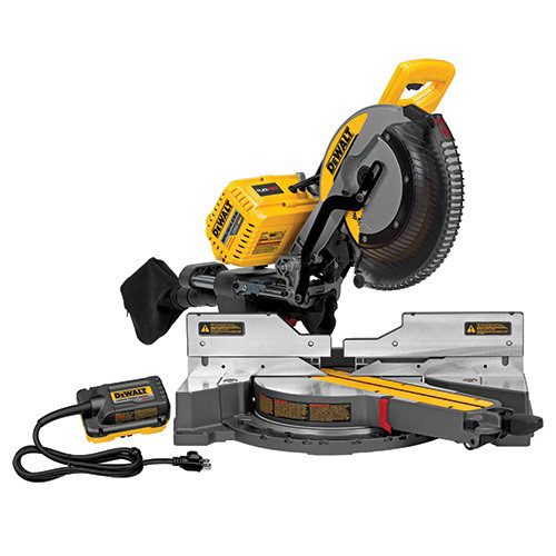 Factory Reconditioned Dewalt Dhs790abr 120v Max Flexvolt Cordless Lithium Ion 12 In Sliding Compound Miter Saw With Adapter Only Bare Tool