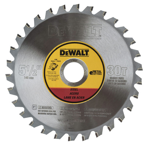 Dewalt DWA7770 5-1/2 in. 30 Tooth Metal Cutting Blade