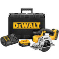 Dewalt DCS373P2 20V MAX Cordless Lithium-Ion 5-1/2 in. Metal Cutting Circular Saw Kit image number 0