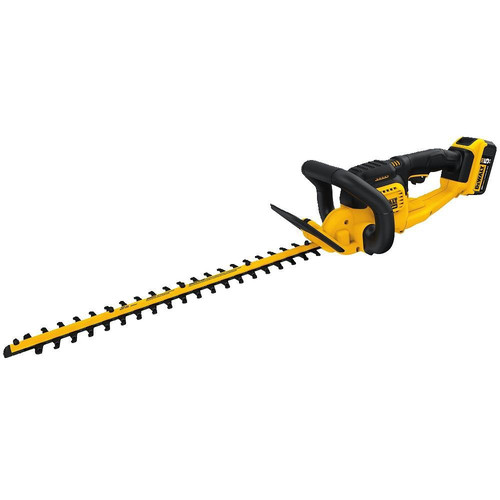 Dewalt DCHT820P1 20V MAX 5.0 Ah Cordless Lithium-Ion 22 in. Hedge Trimmer