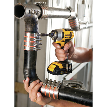 Factory Reconditioned Dewalt DCF885C2R 20V MAX Cordless Lithium-Ion 1/4 in. Impact Driver Kit image number 5