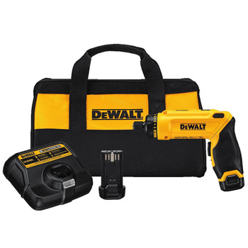 Factory Reconditioned Dewalt DCF680N2R 8V MAX Cordless Lithium-Ion Gyroscopic Screwdriver Kit with 2 Compact Batteries image number 0
