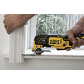 Dewalt DCS356C1 20V MAX XR Brushless Lithium-Ion Cordless Oscillating Multi-Tool Kit (1.5 Ah) image number 5