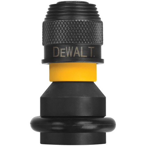 Dewalt DW2298 1/2 in. Square Female to 1/4 in. Hex Rapid Load Chuck