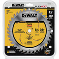 Dewalt DWAFV3836 8-1/4 in. 36T Table Saw Blade image number 1