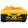 Dewalt DCB206 20V MAX Premium XR 6 Ah Lithium-Ion Slide Battery image number 0