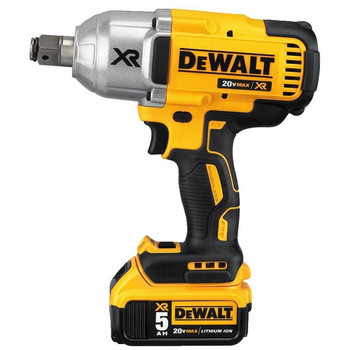 Dewalt DCF897P2 20V MAX XR 5.0 Ah Cordless Lithium-Ion Brushless 3/4 in. Hog Ring Impact Wrench Kit image number 2