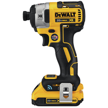 Dewalt DCF888D2 20V MAX XR 2.0 Ah Cordless Lithium-Ion Brushless Tool Connect 1/4 in. Impact Driver Kit image number 1