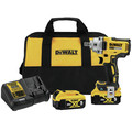 Dewalt DCF896P2 20V MAX Tool Connect 1/2 in. Mid-Range Detent Pin Anvil Impact Wrench Kit image number 0
