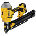 Factory Reconditioned Dewalt DCN21PLM1R 20V MAX Lithium-Ion 21-Degree Plastic Collated Framing Nailer Kit (4 Ah) image number 1