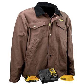 Dewalt DCHJ083TD1-XL 20V MAX Li-Ion Barn Coat Kit - XL