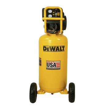 Dewalt DXCM271.COM 1.7 HP 27 Gallon Oil-Free Vertical Air Compressor