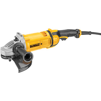 Factory Reconditioned Dewalt DWE4599NR 9 in. 6,500 RPM 4.9 HP Angle Grinder with No Lock-On image number 0