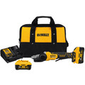 Dewalt DCG413FR2 5 in. 125 mm 20V MAX XR Brushless Flathead Paddle Switch Small Angle Grinder Kit with Kickback Brake