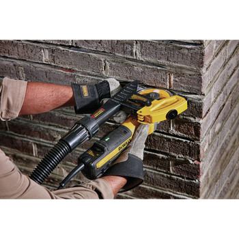 Dewalt DWE46202 5 in. / 6 in. Brushless Slide Switch Small Angle Grinder with Tuckpointing Shroud image number 2