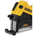 Dewalt DWE46123 4-1/2 in. / 5 in. Corded Cutting Grinder Dust Shroud Tool Kit image number 5