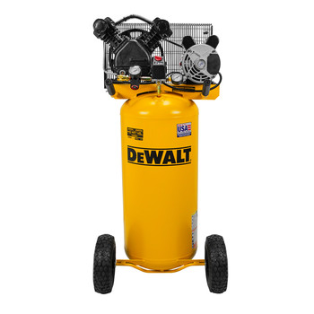 Dewalt DXCMLA1682066 1.6 HP 20 Gallon Single Stage Oil-Lube Vertical Portable Air Compressor