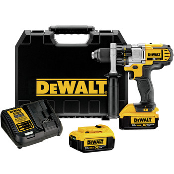 Dewalt DCD980M2 20V MAX Lithium-Ion Premium 3-Speed 1/2 in. Cordless Drill Driver Kit (4 Ah)