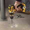 Factory Reconditioned Dewalt DCD795D2R 20V MAX XR Lithium-Ion Brushless Compact 1/2 in. Cordless Hammer Drill Kit (2 Ah) image number 3