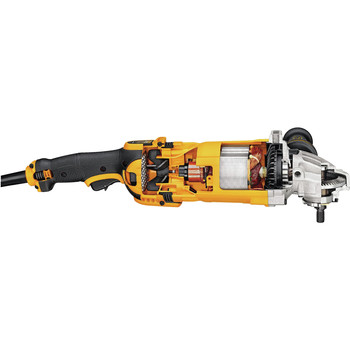 Factory Reconditioned Dewalt DWE4599NR 9 in. 6,500 RPM 4.9 HP Angle Grinder with No Lock-On image number 7