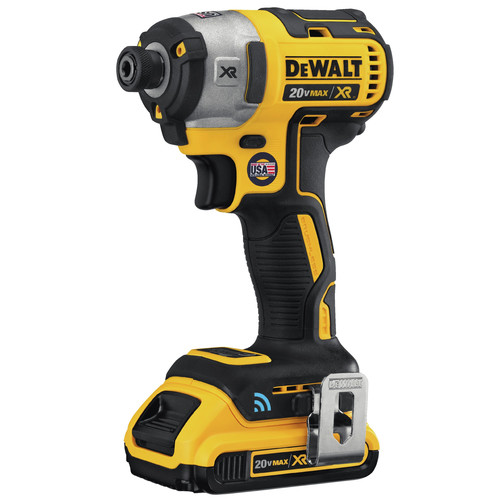 Dewalt DCF888D2 20V MAX XR 2.0 Ah Cordless Lithium-Ion Brushless Tool Connect 1/4 in. Impact Driver Kit image number 2