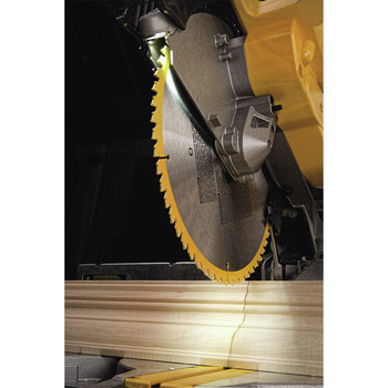 Dewalt DW716XPS 12 in.  Double Bevel Compound Miter Saw with XPS Light image number 7