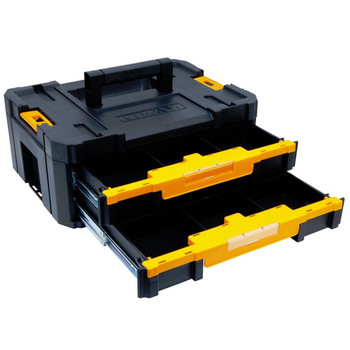 Dewalt DWST17804 TSTAK-4 2-Drawer Stackable Organizer image number 2