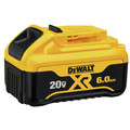 Dewalt DCB206 20V MAX Premium XR 6 Ah Lithium-Ion Slide Battery image number 1