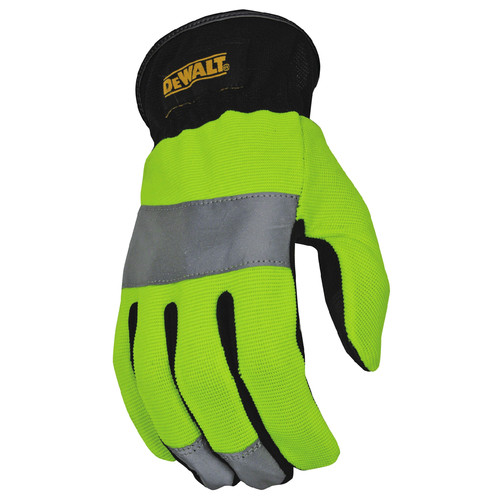 Dewalt DPG870M High-Visibility Reflective Gloves - Medium