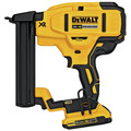 Factory Reconditioned Dewalt DCN681D1R 20V MAX Cordless Lithium-Ion 18 Gauge Narrow Crown Stapler Kit