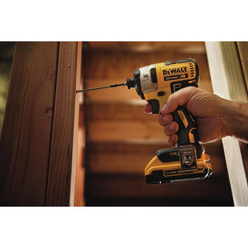 Factory Reconditioned Dewalt DCF887D2R 20V MAX XR Cordless Lithium-Ion 1/4 in. 3-Speed Impact Driver Kit with (2) 2.0 Ah Battery Packs image number 6