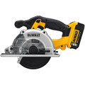 Dewalt DCS373P2 20V MAX Cordless Lithium-Ion 5-1/2 in. Metal Cutting Circular Saw Kit image number 1