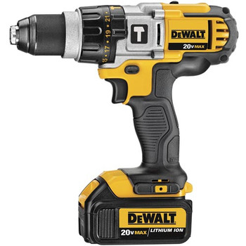 Dewalt DCD985M2 20V MAX Lithium-Ion Premium 3-Speed 1/2 in. Cordless Hammer Drill Kit (4 Ah) image number 1