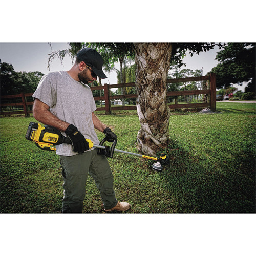 Dewalt DCST920P1 20V MAX 5.0 Ah Li-Ion Brushless String Trimmer image number 3