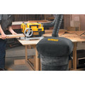 Dewalt DW735X 13 in. Two-Speed Thickness Planer with Support Tables and Extra Knives image number 4